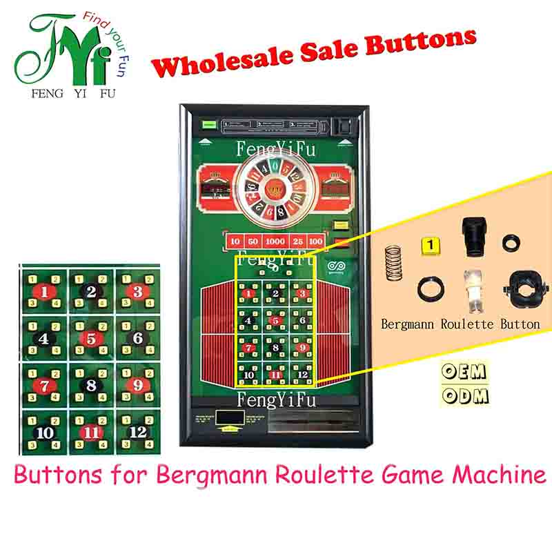 Buttons for Bergmann Roulette