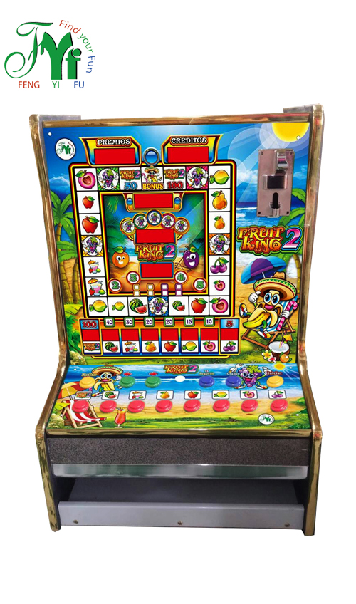 Fruit King 2 Mario Slot Game Machine (2 of Acrylics)