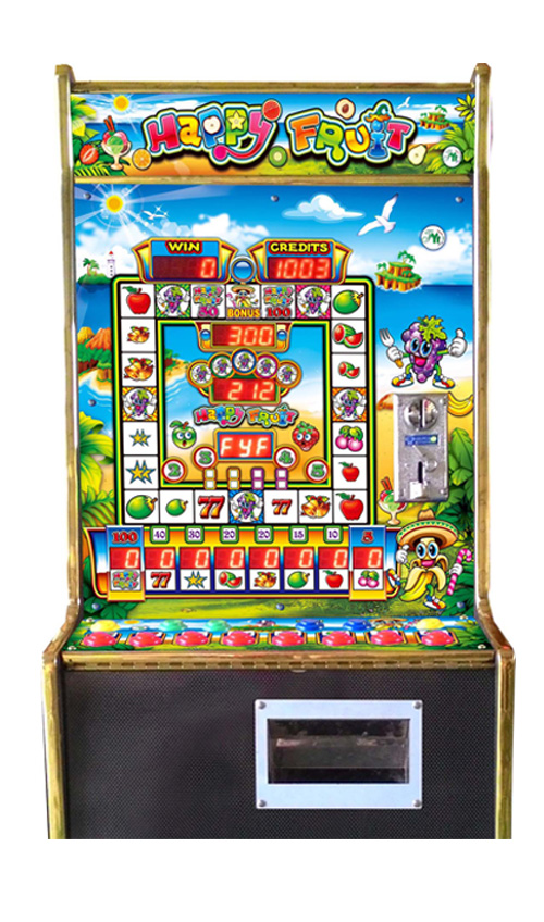 Happy Fruit Mario Slot Game Machine