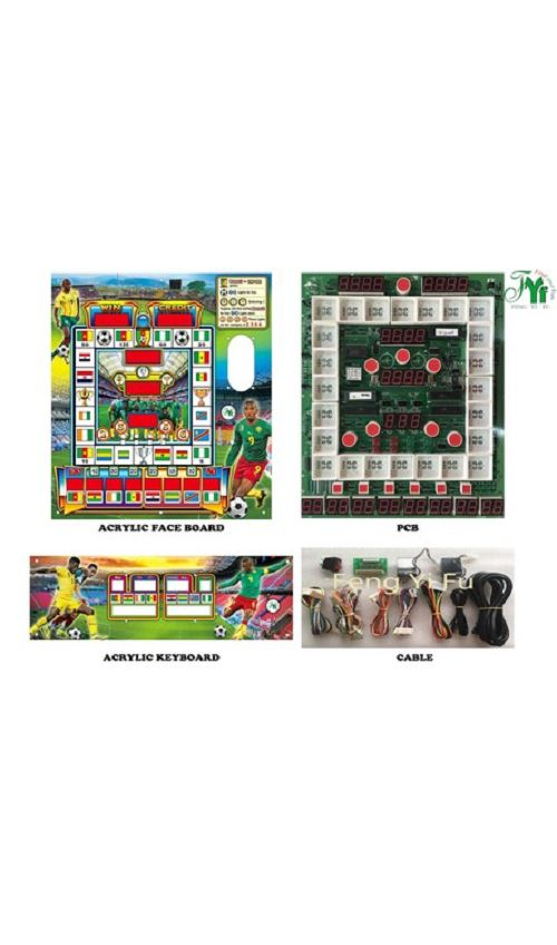 Football Star Mario slot machine kits