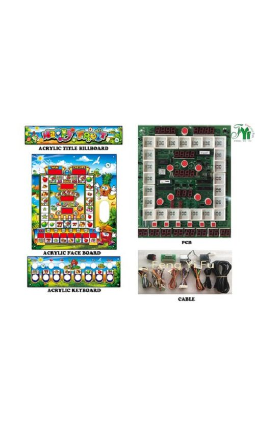 Happy Fruit Mario slot machine kits