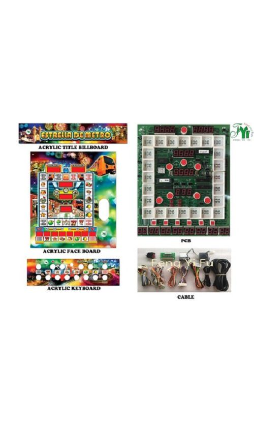 Metro Mario slot machine kits