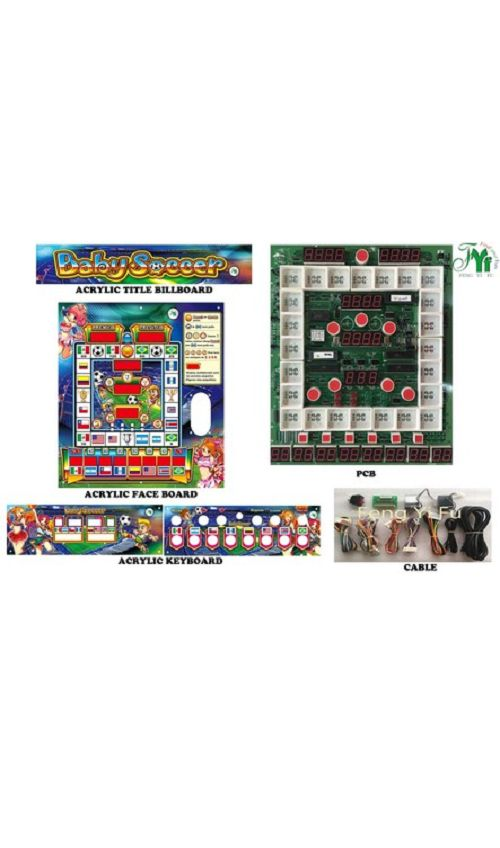 Baby Soccer Mario slot machine kits