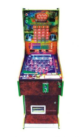 5.6.7 Balls Metro Pinball Game machine